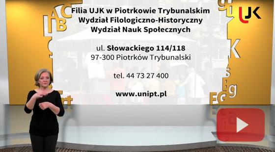 Informacje dla osób posługujących się polskim językiem migowym