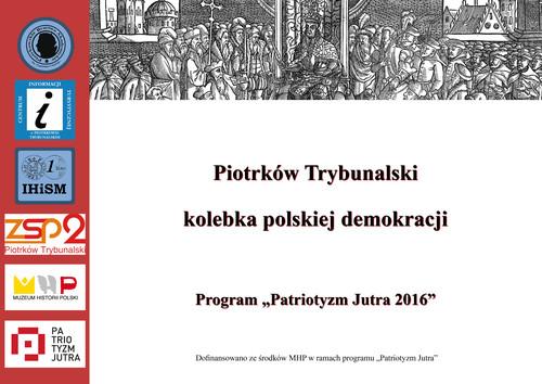 Program Patriotyzm Jutra 2016